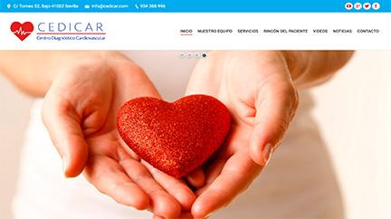 Web médicos en Huelva