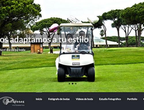 Página web para fotógrafos